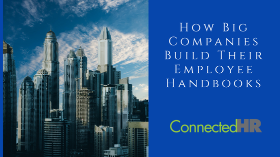 How Big Companies Build Their Employee Handbooks