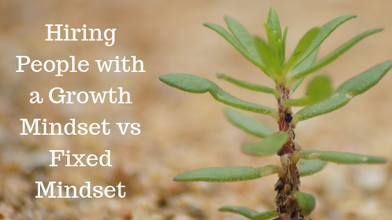 Quick Tip: Hiring people with a growth mindset vs fixed mindset