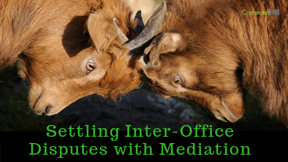 Settling Inter-Office Disputes with Mediation