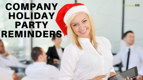 Company Holiday Party Reminders and Waiver Form